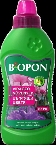 Снимка на Тор за цъфтящи растения БИОПОН бутилка 0.5 л