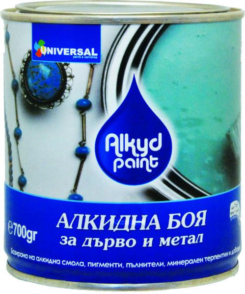 Снимка на Боя алкидна блажна-0.700кг бяло