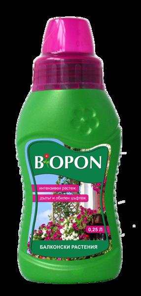 Снимка на Тор БИОПОН балконски растения - 0.25 л.