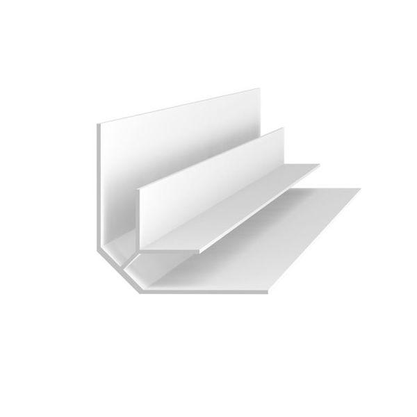 Снимка на Ъгъл вътрешен за ламперия B5 сребро - 2.70 м