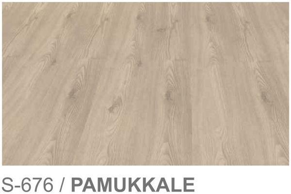 Снимка на Ламиниран паркет S-676 Pamukkale 6мм АС3 31кл
