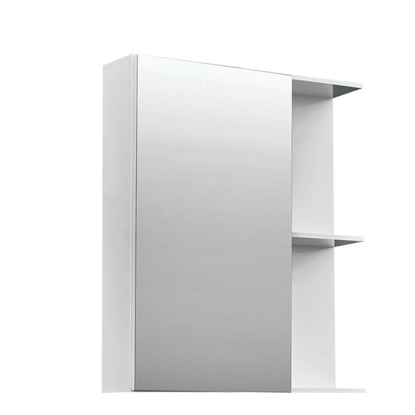 Снимка на Оледало за баня САНИ 55 - бял - PVC