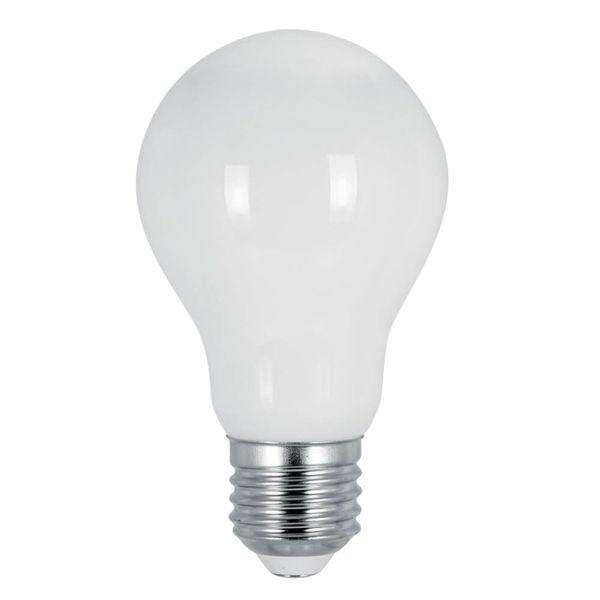 Снимка на Крушка AFO60 LED 8W E27 CL 4000k FLICK OPAL LED