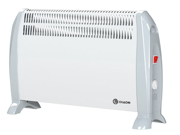 Снимка на Конвектор стоящ без вентилатор бял - CF2000