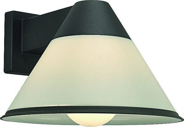 Снимка на Лампа градинска Belight 1хE27 max60W 220V IP44 тъмно сива-горен носач
