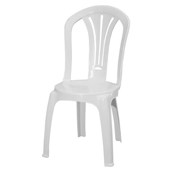 Снимка на Стол пластмасов Foglia бял