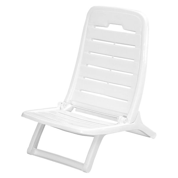Снимка на Стол плажен TEMPO бял