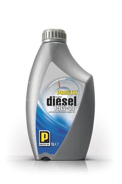 Снимка на Масло Prista SuperDiesel SAE 15W-40 минерално за дизелови двигатели-1л