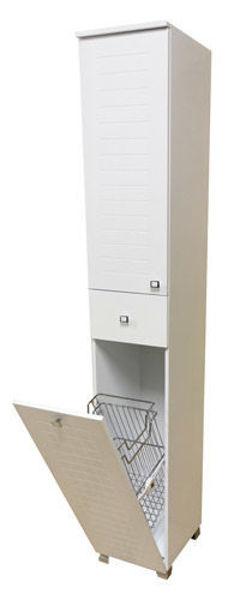 Снимка на Шкаф Колона К190 - бяла - PVC 2020  без кош