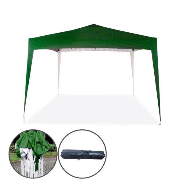 Снимка на Шатра градинска полиестер 3х3 м зелена TLC023-A