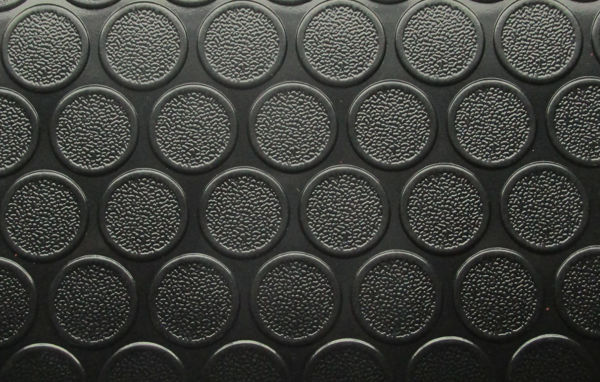 Снимка на Настилка PVC за гаражи PMR134 черна