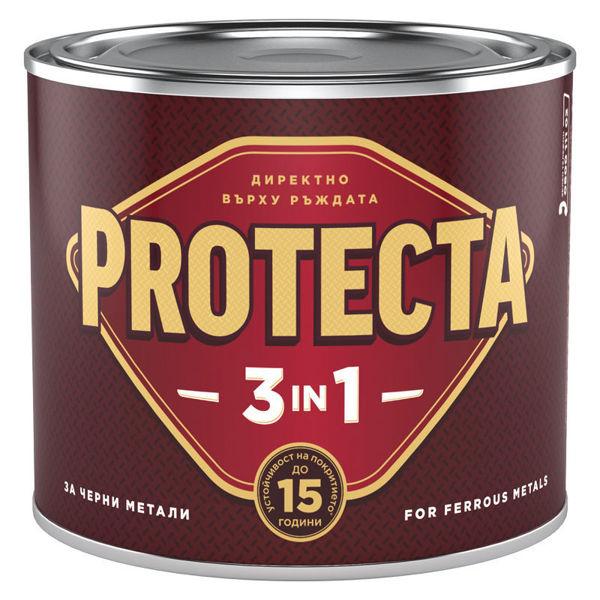 Снимка на Протекта 3 в 1 ефектна златна металик 0.5 l