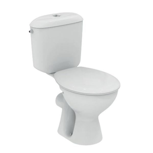 Снимка на W911501 WC комплект ХО СВ 3/6л бял