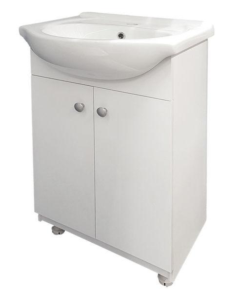 Снимка на Шкаф долен Дани 2 с мивка 50см с две ПВЦ врати