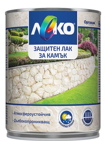 Снимка на Лак защитен ЛЕКО за камък 2.5 л