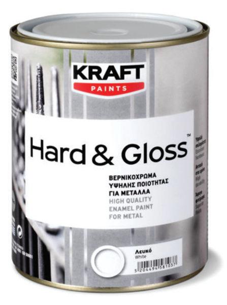 Снимка на Емайллак за дърво и метал Hard&Gloss 13 Грейпфрут 0.65l