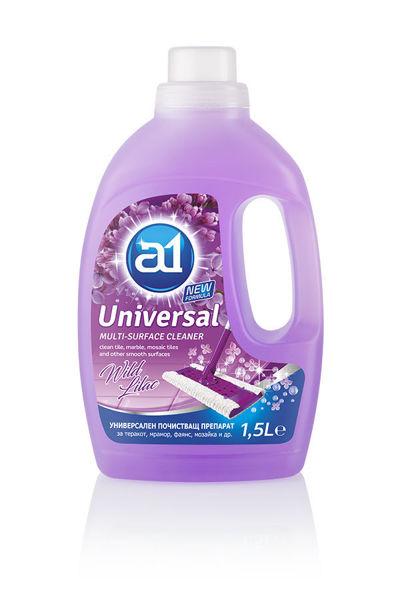 Снимка на Препарат универсален почистващ - лилав 1.5л.