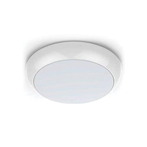 Снимка на Осветително тяло за баня LED ф20 12W IP65 бяло