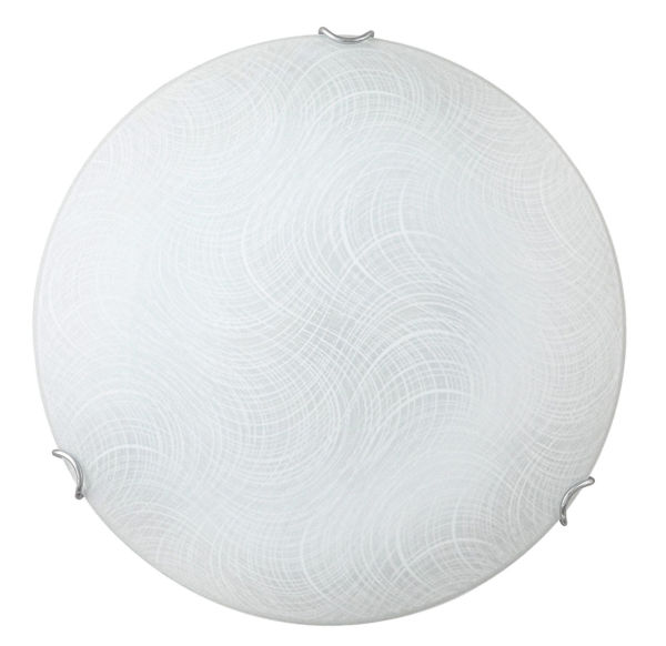 Снимка на Плафон LED Таннер 40см 18W 3000k бял/стъкло 3231