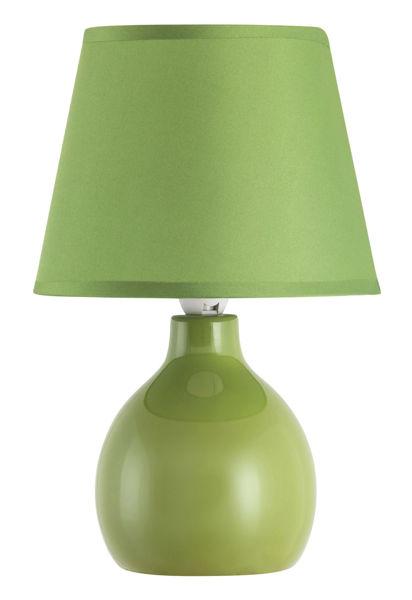 Снимка на Лампа настолна Ингрид зелена