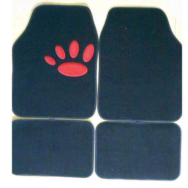 Снимка на Постелки за автомобил WILD CAT - мокет 4 части - 52386