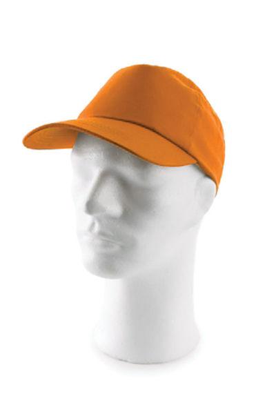 Снимка на Шапка с козирка LUCKY - оранжева