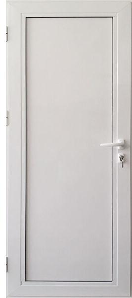 Снимка на Врата алуминиева за баня 690/1990 дясна навътре