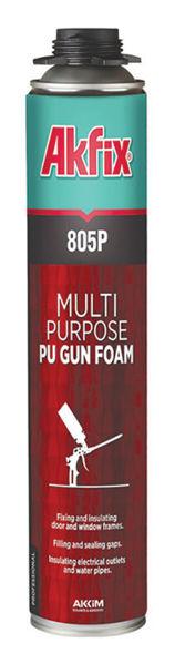 Снимка на Пяна полиуретанова 805Р за пистолет 750мл.