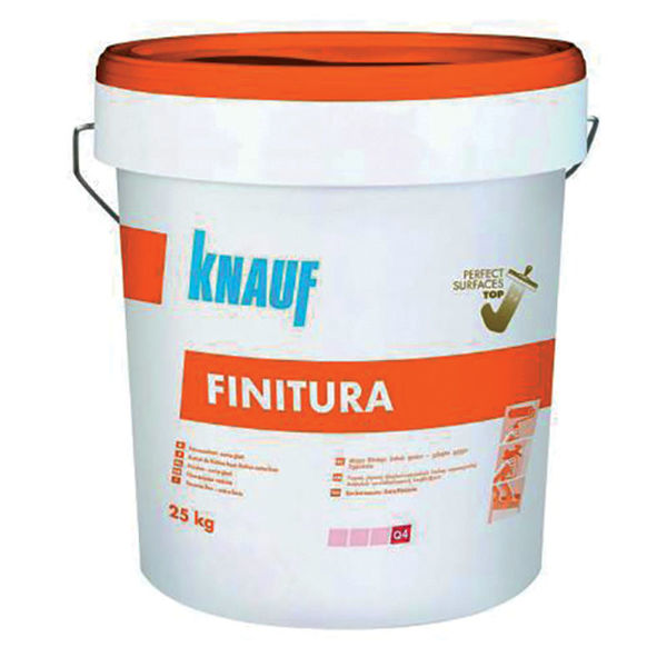 Снимка на Шпакловка Finitura суперфина готова 20 кг.