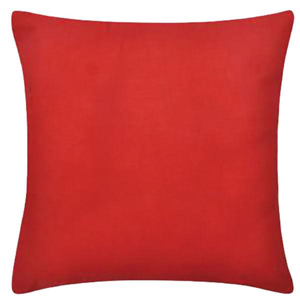 Снимка на Възглавница декоративна 42/42 червена тефлон