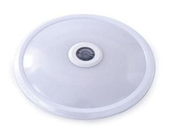 Снимка на Осветително тяло за баня LED ф20 12W IP65 сензор