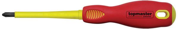 Снимка на Отвертка изолир. 1000V кръст. Ph2x100мм. SVCM TMP