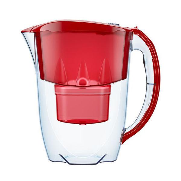 Снимка на Кана филтрираща Aquaphor Jasper 2,8л. Червена MFP
