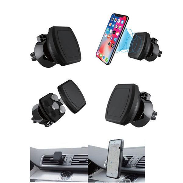 Снимка на Държач за мобилен телефон магнитен за решетката на автомобил