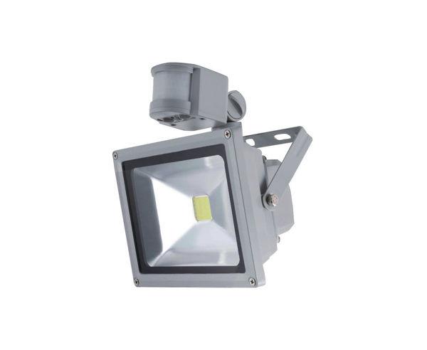 Снимка на Прожектор LED S20W PIR 400K