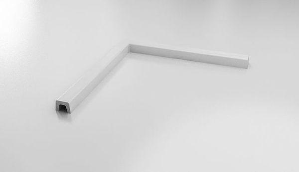 Снимка на Праг за параван за баня SK-S-078 900х900 мм пластмасов бял