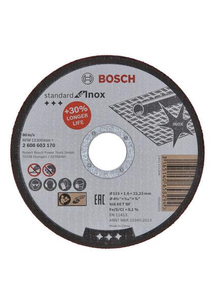 Снимка на Диск за рязане AS 46 INOX BF 115 мм 22.23 мм 1 мм