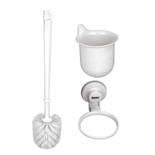 Снимка на Четка за WC конзолна  BATHLUX ABS вакум