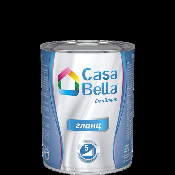 Снимка на Емайллак алкиден Casa Bella RAL 9005 650 мл.