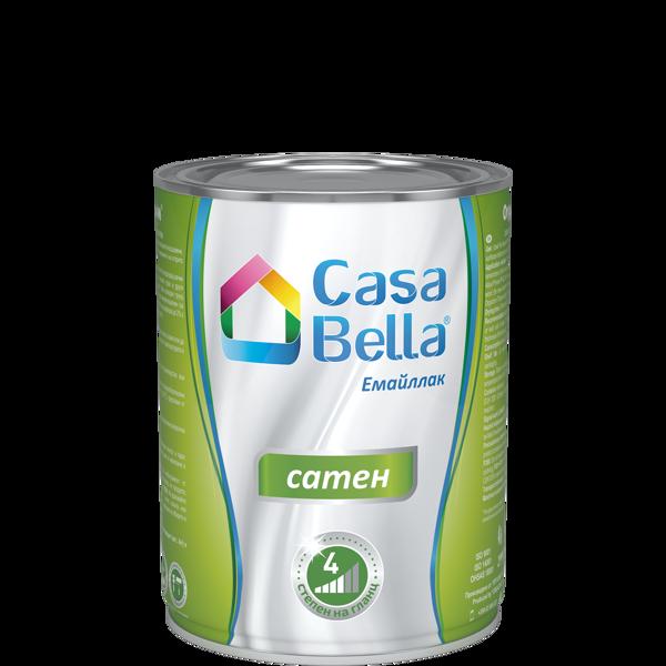 Снимка на Боя алкидна Casa Bella сатен Бяла 650 мл.