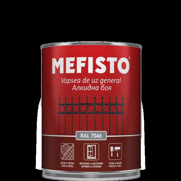 Снимка на Боя алкидна Mefisto RAL 7046 650 ml