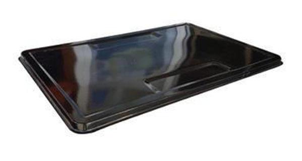 Снимка на Табла голяма емайлирана - черна 90х60см.