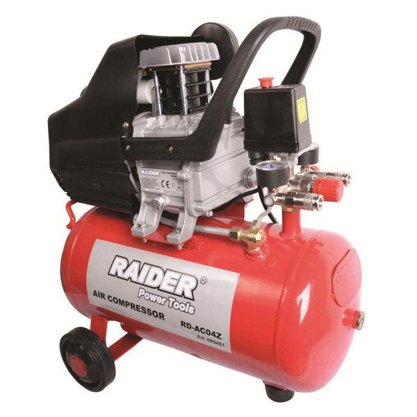 Снимка на Компресор RAIDER 24 л 1.5 kW RD-AC04Z