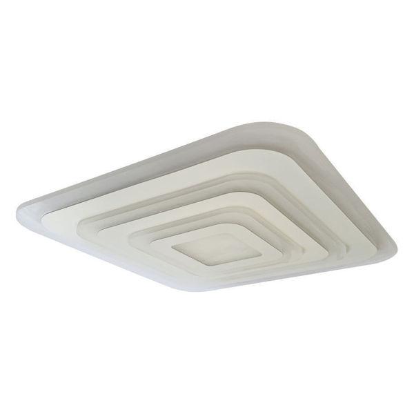 Снимка на Плафониера LED бяла 100W 7000Lm 2800+6500K IP20 DIM с дист.у-е - 48см