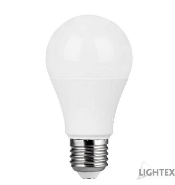 Снимка на Лампа Led Light 9W 220V E27 A60 CW 6000K Lightex