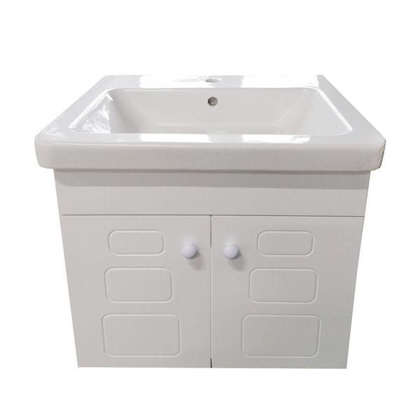 Снимка на Шкаф долен за баня ВИКТОРИЯ с мивка 60 см