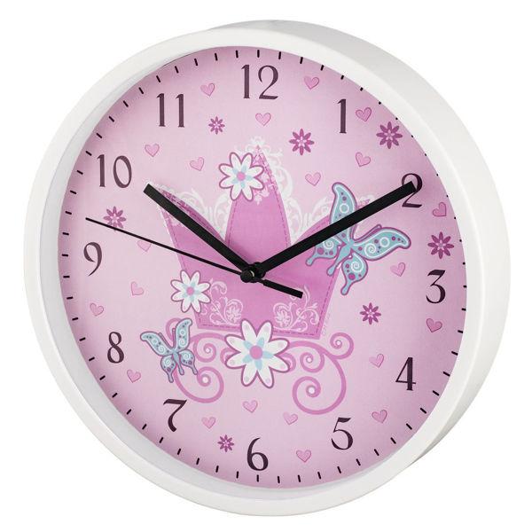 """Снимка на Часовник стенен детски """"Krone"""" Ø22.5cm"""