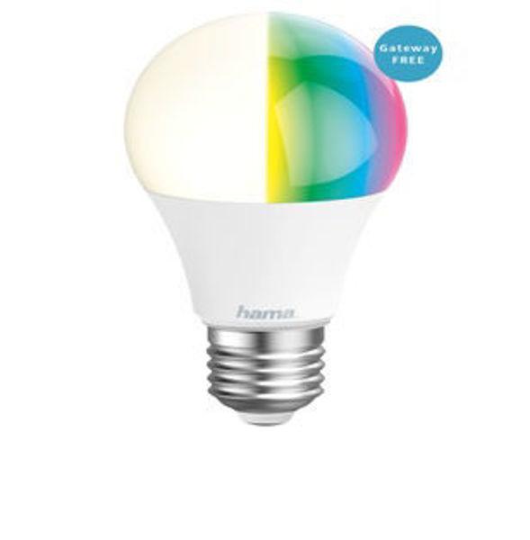 Снимка на Крушка HAMA димираща RGB WiFi-LED E27 10W