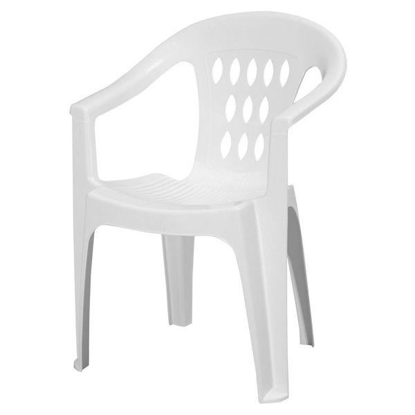 Снимка на Стол пластмасов SMERALDO бял