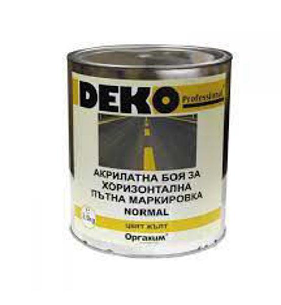 Снимка на Маркировка пътна нормал жълта 3.5кг